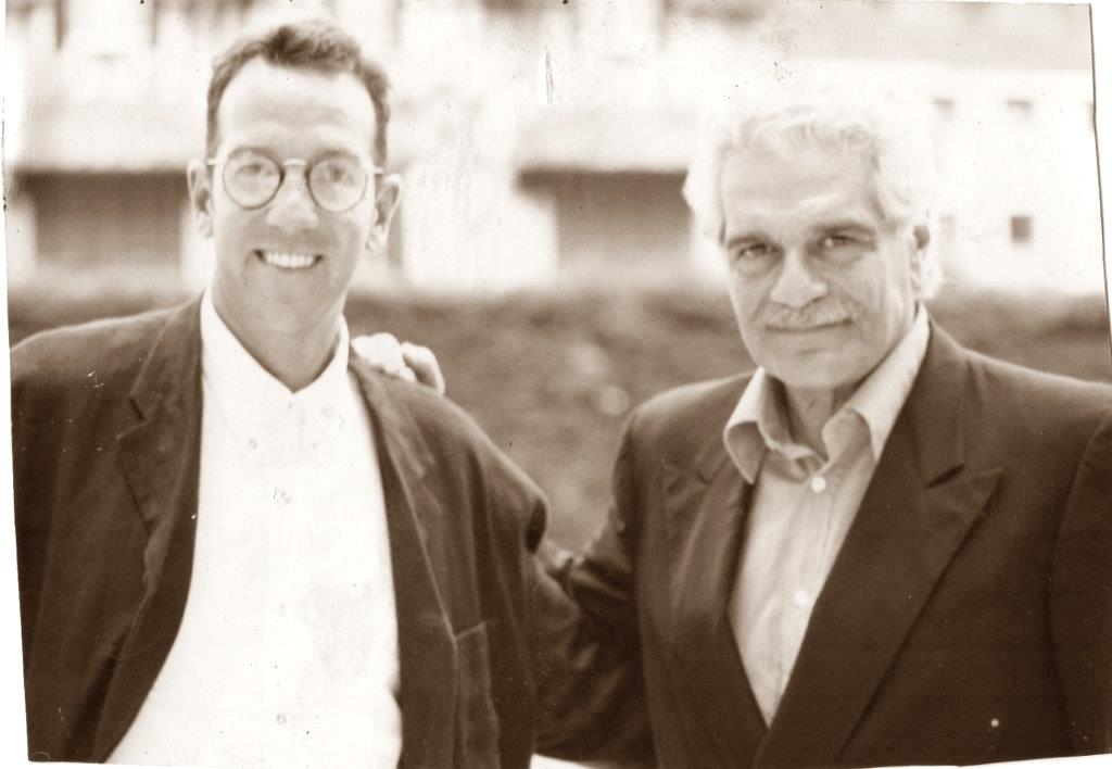 David with Omar Sharif 1993