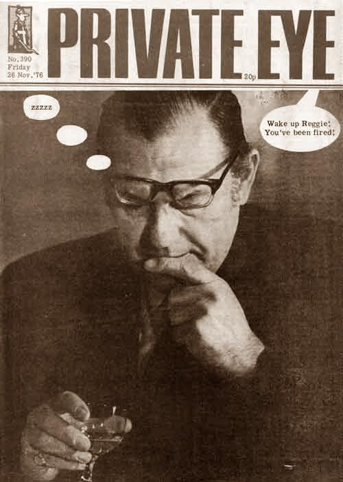 Reggie Maudling private eye cover