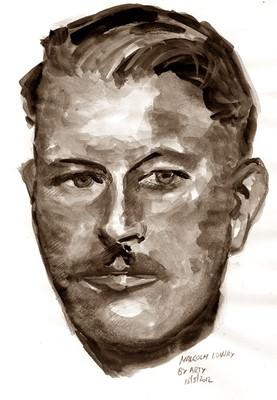 Malcolm Lowry painting