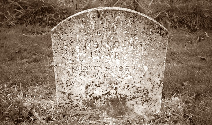 Malcolm Lowry Tombstone