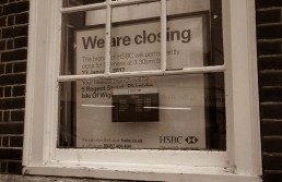 HSBC Bank Closing Notice